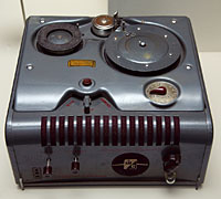 Webster-Chicago 228-1 wire<br>recorder from 1951.<br>Courtesy of Bill Wray.