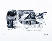 106-Mile House sketch by peter Ewart