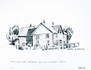 Old homestead sketch by peter Ewart